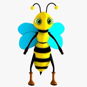 bee character 3d model