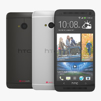 New HTC One 2013  Flagship Smartphone in Black and White
