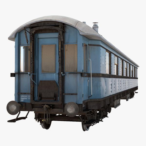 old passenger train 2 ma