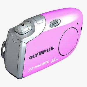 olympus m mini purple 3d lwo