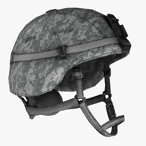 military soldier helmet 3d model
