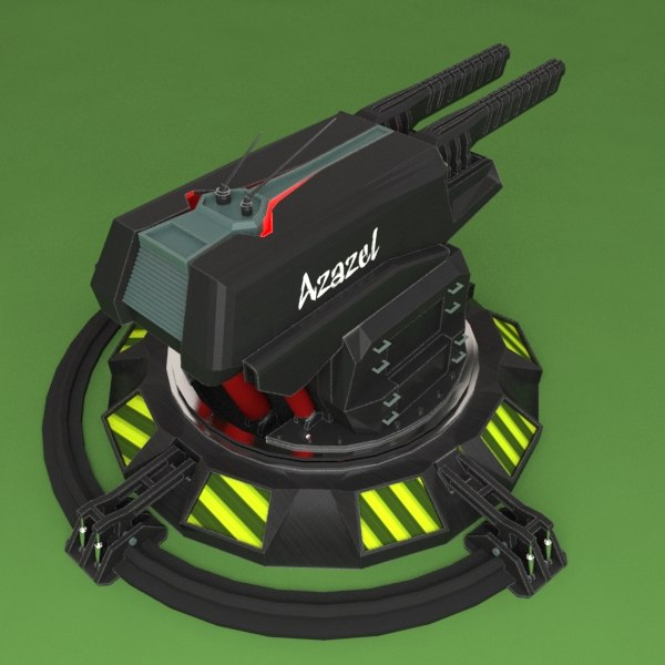 turret azazel 3ds