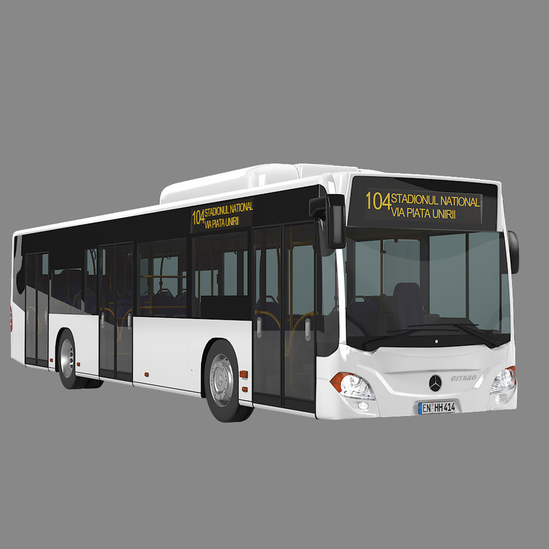Mercedes benz citaro city bus max for Mercedes benz atlantic city