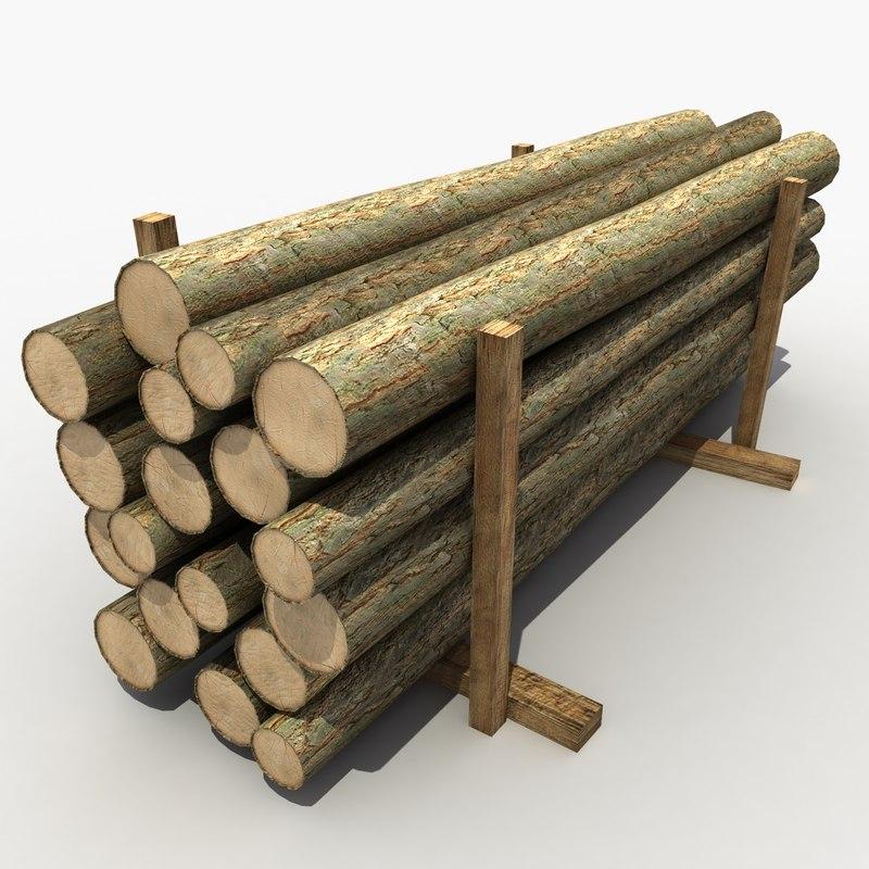 3d model lumber modeled games