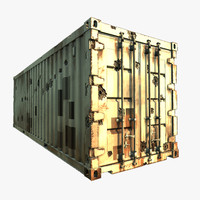 3d container closed
