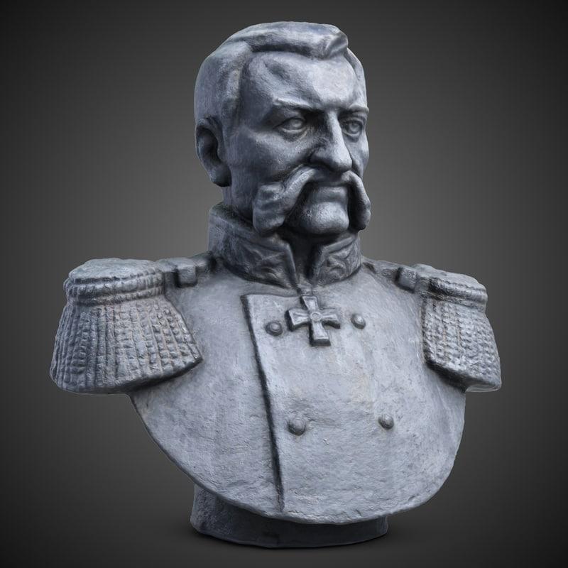admiral sokovnin man bust max
