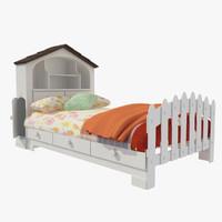 3d model bed mattresses