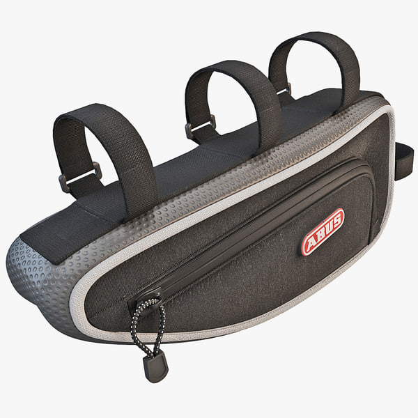 3d abus bicycle bag model