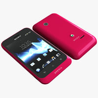 Sony Xperia Tipo Red