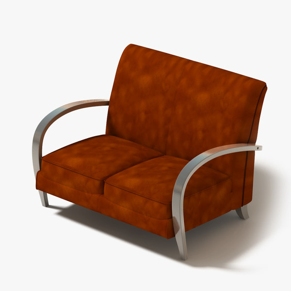 loveseat couch 3d model