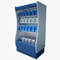 Supermarket Refrigerator 02