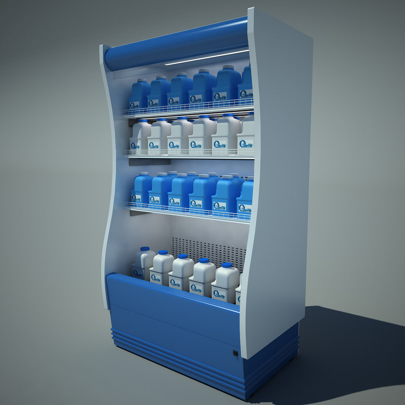 supermarket refrigerator super