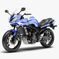 c4d yamaha fazer s2 motorcycle