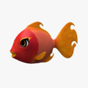Cartoon Fish 3D models