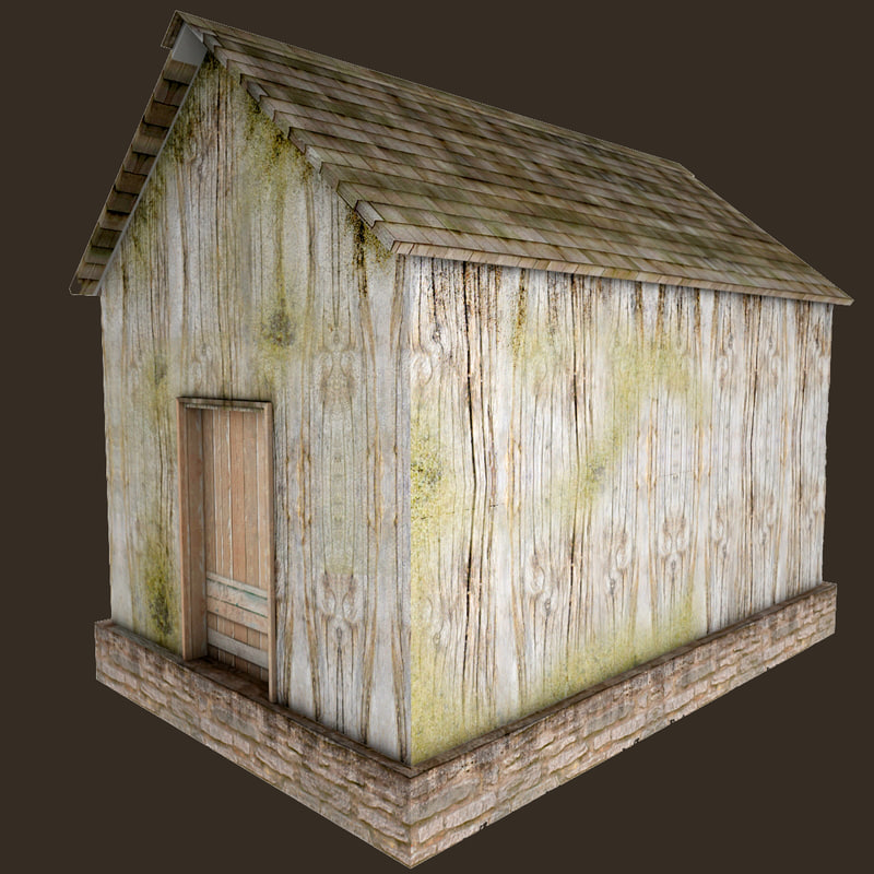 3d model village house games