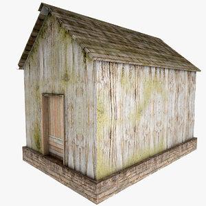 3d model village house games