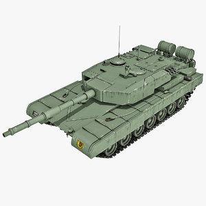 3d indian arjun main battle tank
