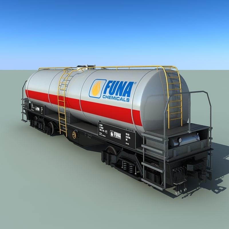 oil tank wagon 3ds