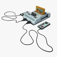 3dsmax dendy console