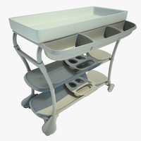 3d model table swaddling