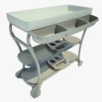 3d model table swaddling