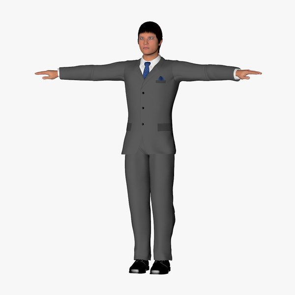 3ds max character lee