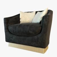 visionnaire quirinio armchair 3d max