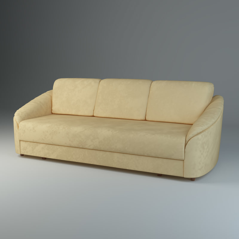 3d model sofa donata furniture