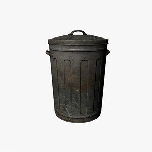 3d max trash bin