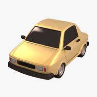 3d model standar toy car
