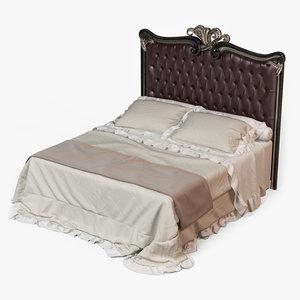 3d model bed savio firmino