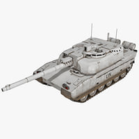 AMX-56 Leclerc France Main Battle Tank