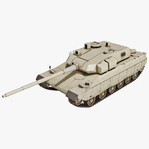 brazilian ee-t1 battle tank 3d 3ds