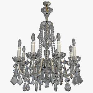 chandelier 7 3d model