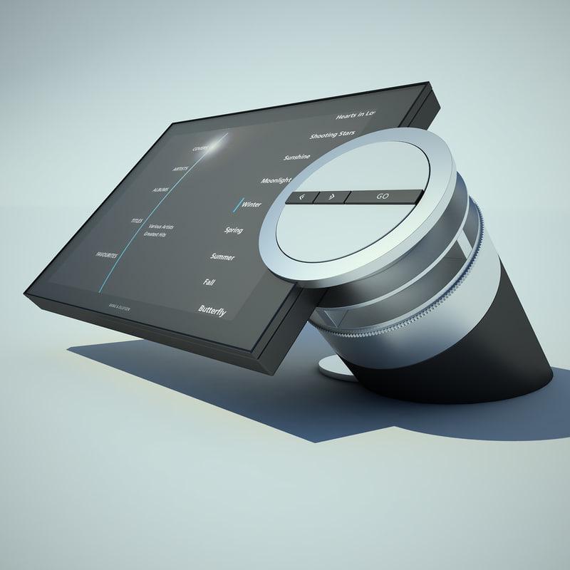 3d model bang olufsen beosound. Black Bedroom Furniture Sets. Home Design Ideas