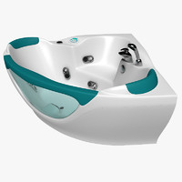 x bathtub hydromassage massage