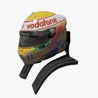 Lewis Hamilton 2012 Helmet