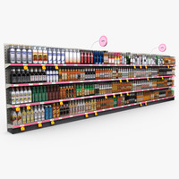 Retail - Store Shelves - Liquor 02