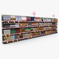 Retail - Store Shelves - Liquor 02