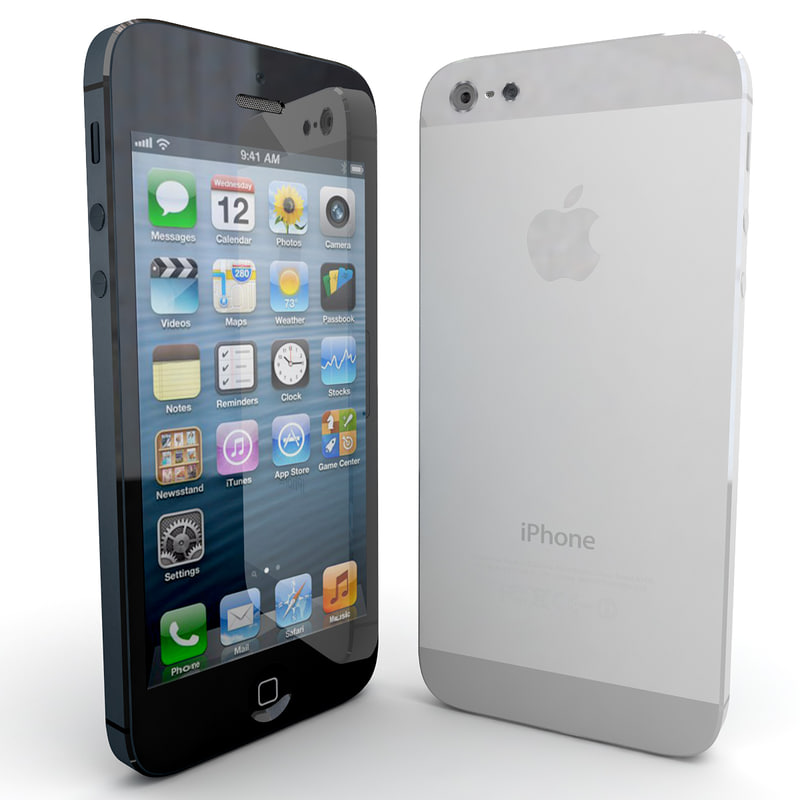3d new apple iphone 5 model