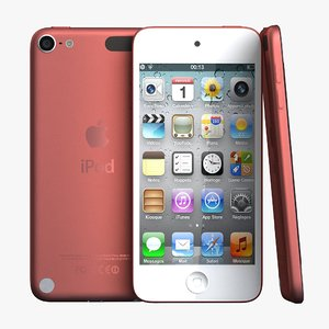 3d model ipod touch 5