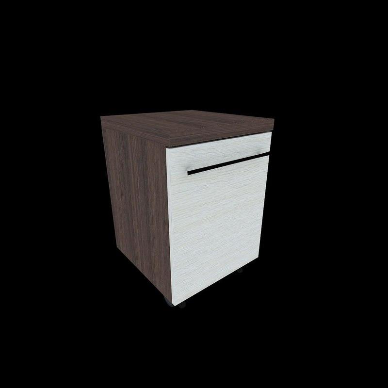 mobile pedestal drawers 01 max