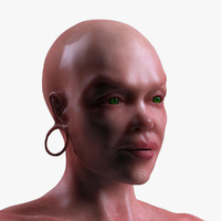 3d female body