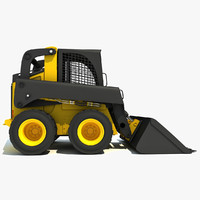 3ds max skid steer loader
