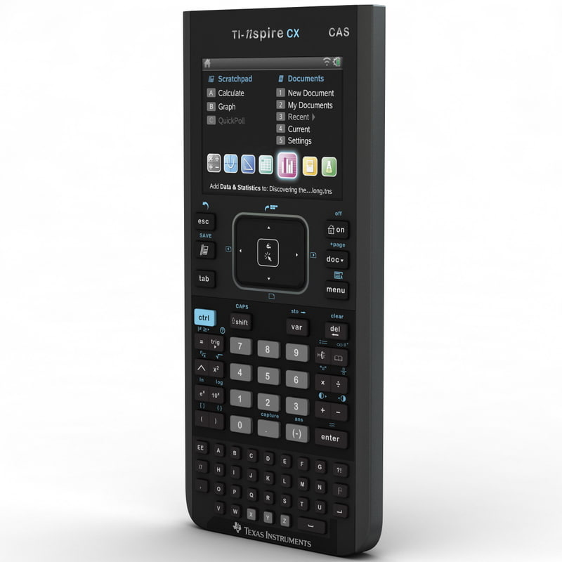 3d texas instruments graphing calculator model