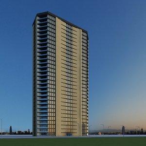 3d model new skyscraper 47