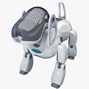 max sony aibo dog robot