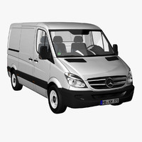 MB Sprinter Panel Van Short 2012