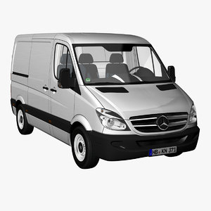 3d lwo sprinter panel van 2012