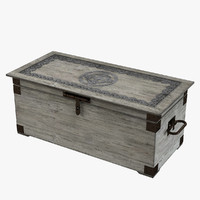 Vintage Decorative Trunk By Lehome Interiors